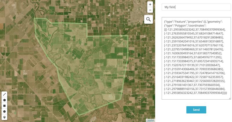 Agro API: API to satellite imagery  NDVI  Weather API - OpenWeather